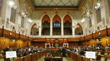 The chamber of the House of Commons in Ottawa. (FRED CHARTRAND)