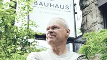 """Uwe Boll, a former filmmaker who now owns the Bauhaus restaurant in Vancouver, says a $4 mimimum-wage hike """"will be devastating"""" to many small businesses. (Alex Barredo)"""