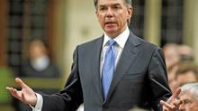 Environment Minister Jim Prentice speaks during Question Period in the House of Commons on April 26, 2010. (BLAIR GABLE/REUTERS)