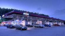 An Irving Oil gas station. Though the Eastern market is thirstiest for light oil, Irving Oil's massive refinery in Saint John can handle some heavy grades. (Irving Oil)
