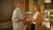 Michael Douglas and Diane Keaton have fun in their roles, but this romantic comedy is full of well-worn tropes. (Clay Enos)