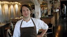 Chef Rene Redzepi poses in his restaurant Noma in Copenhagen. (STR/REUTERS)