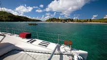 Our TradeWinds catamaran cruise leaves from Guadeloupe.