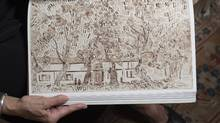 Vincent Van Gogh: The Lost Arles Sketchbook reveals an unknown collection of 65 Van Gogh drawings done in Provence from spring 1888 to spring 1889. (FRED LUM/THE GLOBE AND MAIL)