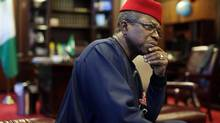Nigerian High Commissioner to Canada Ojo Uma Maduekwe says if the West takes a piecemeal approach, the conflict in Mali will only get worse. (Dave Chan for The Globe and Mail)