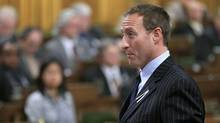 Defence Minister Peter MacKay speaks during Question Period in the House of Commons on Dec. 6, 2011. (CHRIS WATTIE/REUTERS)