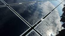 The deal for the plant, which at 550 megawatts would equal the capacity of First Solar's Desert Sunlight plant, comes after First Solar failed to win a U.S. loan guarantee to help finance its construction. (Dave Chidley/The Canadian Press/Dave Chidley/The Canadian Press)