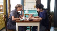 Annette Bening and Lucas Jade Zumann play a mother and son in Mike Mills's third feature film, 20th Century Women. The movie, which takes place in 1979 Santa Barbara, Calif., is Mills's second autobiographical comedy about parent-child relations.