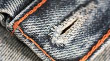 The United Nations is encouraging people to wash their jeans less frequently. (Thinkstock)