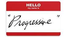 Hello, my name is 'Progressive' (iStockPhoto, The Globe and Mail)