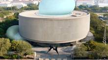 """Elizabeth Diller's plan for """"the Bubble"""" at the Hirshhorn Museum has died but the spirit that came up with the concept is still alive. (DILLER SCOFIDIO + RENFRO)"""