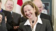Alberta Premier Alison Redford. (JASON FRANSON/THE CANADIAN PRESS)