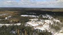 Two mining exploration camps are pictured in the proposed Ring of Fire development area, approximately 500 kilometres northeast of Thunder Bay, Ontario. (HANDOUT/REUTERS)