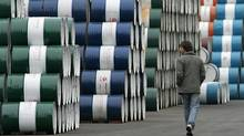 Crude skids more than 5 per cent (ALY SONG/REUTERS)