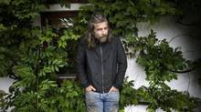 Karl Ove Knausgaard suddenly found fiction 'nauseating,' and drowning in stories. (Dan Hansson/SvD/TT News Agency)