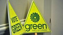 The Green Party's election platform promises two kinds of help for married couples and families. (DON MACKINNON/Don MacKinnon/AFP/Getty Images)