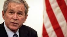 U.S. President George W. Bush in Baghdad, on December 14, 2008. ) (Mohammed Jalil/ AFP/Getty Images/Mohammed Jalil/ AFP/Getty Images)