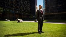 Neeraj Monga, executive vice-president of Veritas Investment Research Corp., co-authored a report alleging improper practices at IndiaBulls Group and advocates that shareholders sell their shares immediately. (Galit Rodan/The Globe and Mail)