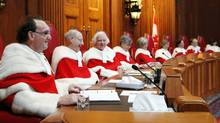 The Supreme Court of Canada has rejected a proposed bill to create a national securities regulator. (Fred Chartrand/The Canadian Press)