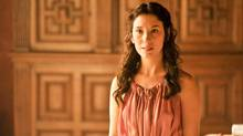 Opening day at the Game of Thones: The Exhibition will feature a a Q&A with actress Sibel Kekilli, who plays Shae on the HBO show. (Neil Davidson/HBO)