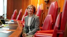 Departing Supreme Court Justice Marie Deschamps says legislators have taken to passing 'unclear' laws with the understanding that the courts will sort them out. (Dave Chan For The Globe and Mail)
