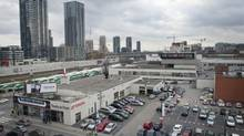 Woodbridge plans to sell a parcel of land, in foreground, which it had originally planned to develop (Kevin Van Paassen/The Globe and Mail)