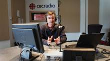The Fisheries Broadcast host John Furlong works at the CBC studio in St. John's, N.L., Wednesday, March 9, 2011. (Paul Daly/THE CANADIAN PRESS)