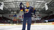 Entrepreneur Howie Campbell is the majority owner of the OHL's Barrie Colts, who play out of the the Barrie Molson Centre in Barrie Ont. (J.P. Moczulski for The Globe and Mail)