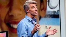 "Apple CEO Tim Cook introduced Craig Federighi as ""Superman"" at Apple's annual WWDC developers conference on June 2. Mr. Federighi commanded 70 per cent of the entire presentation and clearly stole the show, given the reaction he attracted in the audience and among bloggers who covered the event."