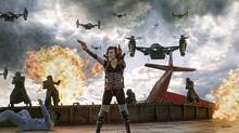"Milla Jovovich in a scene from ""Resident Evil: Retribution"" (Rafy)"