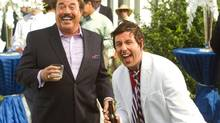 Tony Orlando and Adam Sandler in That's My Boy. (Tracy Bennett/AP)