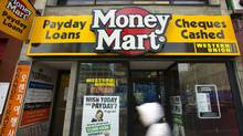 The Money Mart location on Yonge St. in Toronto, Ont. March 16/2011. (Photo by Kevin Van Paassen/The Globe and Mail) (Kevin Van Paassen/The Globe and Mail)