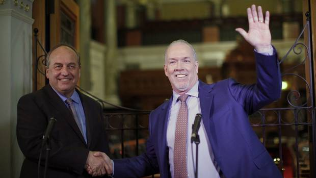 BC Greens and NDP to hold announcement regarding new government