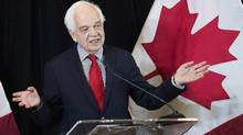Immigration Minister John McCallum says it's the highest number of projected admissions in decades. (Nathan Denette/THE CANADIAN PRESS)