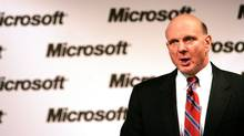 Steve Ballmer, chairman and chief executive officer of Microsoft Corp. (MIKE SEGAR/MIKE SEGAR/REUTERS)