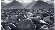 Ansel Adams, Mount Williamson, The Sierra Nevada, from Manzanar, California, 1945