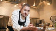 At The Dirty Apron cooking school in Vancouver, Chef David Robertson's students asked him to base lessons on Iron Chef. (Brett Beadle for The Globe and Mail)