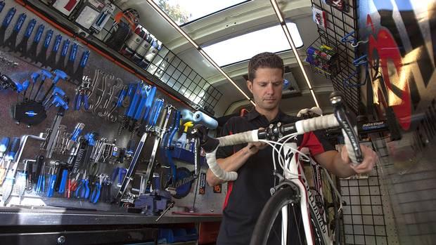 mobile bicycle repair business plan