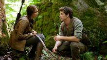 Katniss Everdeen (Jennifer Lawrence) and Gale Hawthorne (Liam Hemsworth) in The Hunger Games. (Murray Close/Murray Close)