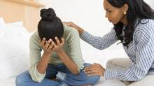 Be tough when necessary, but you also need to give recognition to your kids when they are unhappy. (Thinkstock)