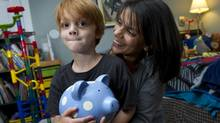 Sitara de Gagne's son Hunter, 6, was just a toddler, when he was diagnosed with leukemia (Kevin Van Paassen/The Globe and Mail)