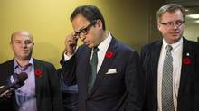 The mayor is no longer putting Toronto's interests first – it's time to ask the province to step in, says Toronto City Councillor Denzil Minnan-Wong (centre) (THE CANADIAN PRESS)