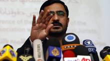 Former Tehran prosecutor Saeed Mortazavi is seen in an April 2009 file photo. (Vahid Salemi/AP)