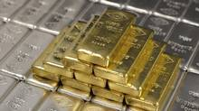 Gold and silver bars. (LISI NIESNER/REUTERS)