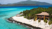Necker Island is a 30-hectare private escape surrounded by coral reefs and fringed with white sandy beaches.