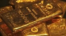 A handful of bankers in London currently set the world standard for gold prices, a practice that started in 1919 and is widely used by governments, miners and brokers. (AJAY VERMA/REUTERS)