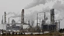 Valero is already expanding its 265,000-barrel-a-day refinery near Quebec City to receive western crude by rail. (JACQUES BOISSINOT/THE CANADIAN PRESS)
