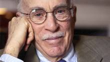 This undated photo provided by The New Yorker shows writer Roger Angell, who won the J.G. Taylor Spink Award on Tuesday, Dec. 10, 2013. (The Associated Press)