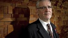 Dr. Julio Montaner, Director of the British Columbia Centre for Excellence in HIV/AIDS, poses for a photograph after speaking at the American Association for the Advancement of Science Annual Meeting in Vancouver, February 19, 2012. (DARRYL DYCK For The Globe and Mail)