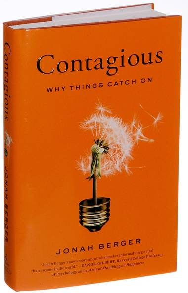 """Contagious: Why Things Catch On Jonah Berger Simon & Schuster, $29.99 Reviewed by Monica LaBarge This eminently readable book, written by a rising star in academic marketing thought, combines peer-reviewed research with real world business stories and an engaging writing style to explore what really drives social media and buzz marketing. In contrast to most popular press books on marketing, this book goes beyond simple case studies to the science of social psychology to explain how and why word-of-mouth spreads, both in the online world and in face-to-face interactions, and proposes six principles that Mr. Berger believes drive things to become """"contagious."""" While Mr. Berger doesn't quite have the storytelling skill of Malcolm Gladwell or the scholarly heft of Daniel Kahneman (Thinking, Fast and Slow) or Richard Thaler (Nudge), he does a great job of providing a comprehensive road map for those who seek to understand how they, too, can use the principles of social influence to get their own product or idea to catch on. Dr. LaBarge is an assistant professor of marketing at Queen's School of Business in Kingston"""